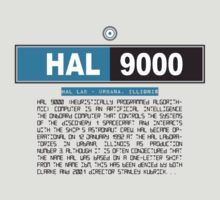 HAL 9000 by theycutthepower