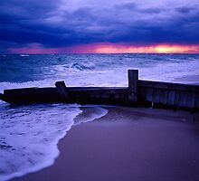 Stormy Sky over Mcrae Beach by snappa41
