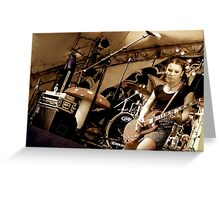 Big day out Greeting Card
