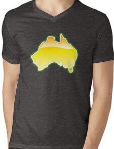 Australian Aussie Oz map  Mens V-Neck T-Shirt