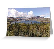 Irish Skyline - Co. Kerry Greeting Card