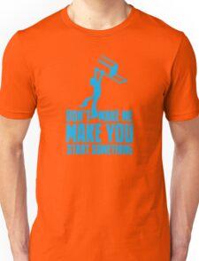 Don't make me, make you start something with bar fight guy Unisex T-Shirt