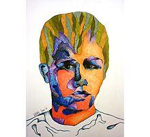 Bubbler Portrait - Zach Woomer [2] Photographic Print