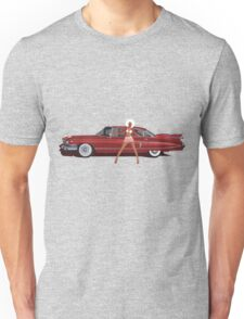 The Seventies are back - Red Cadillac Unisex T-Shirt