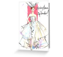 Springtime Splendor! Greeting Card