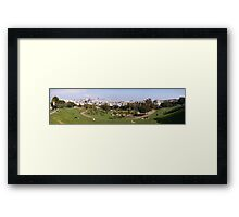 Mission Dolores Panorama Framed Print