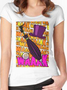 WAAAK WAAK WAK Women's Fitted Scoop T-Shirt