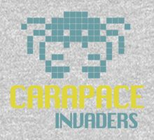 Carapace Invaders One Piece - Short Sleeve