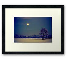 """""""MOONLIGHT BLISS"""" Framed Print"""