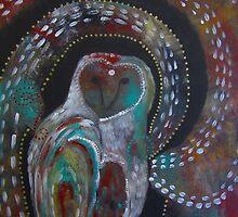 Owl Medicine - The Moon  by Astara Lak'ech