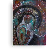 Owl Medicine - The Moon  Canvas Print