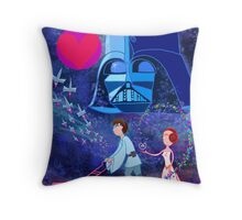 May the LOVE be with you Throw Pillow