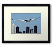 From the field he arises Framed Print