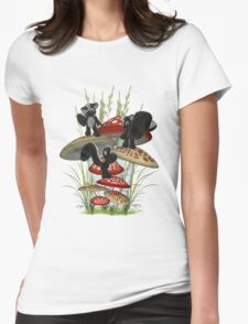 Race to the top Womens Fitted T-Shirt