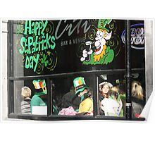 St Patrick's Day in Dublin Poster
