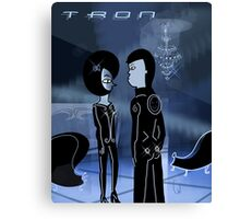 Tron love Canvas Print