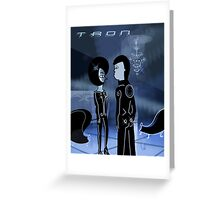 Tron love Greeting Card