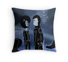 Tron love Throw Pillow