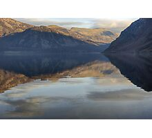 Ennerdale Water..A View Of The Fells Photographic Print