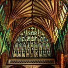 Exeter Cathedral Window by ajgosling