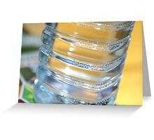 Bass Bottle - Digital Macro Photography Greeting Card