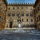 Piazza Salimbeni,Siena,Italy by Davide Ferrari
