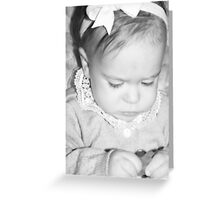 Precious Baby Greeting Card