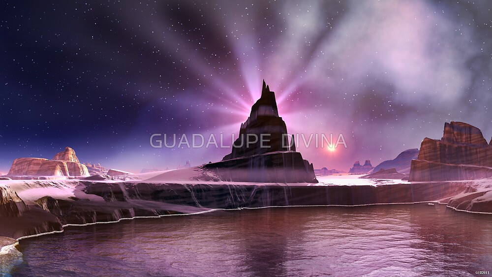 """""""INFINITE HEAVEN"""" by GUADALUPE  DIVINA"""