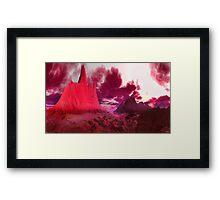 """""""RED LOVE"""" Framed Print"""