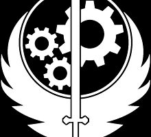 Brotherhood Of Steel Emblem by PerryDaPlatapus