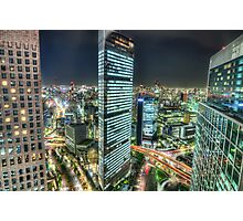 Tokyo by Night - Shimbashi | Japan Photographic Print