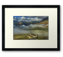 The Head Of Great Langdale Framed Print