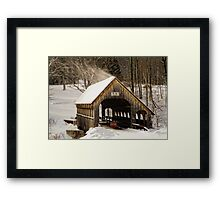 The Intent Framed Print