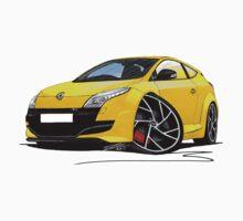 RenaultSport Megane 250 Yellow by Richard Yeomans