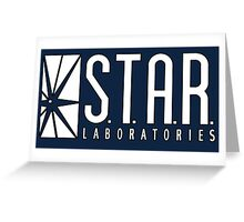 STAR Laboratories Greeting Card