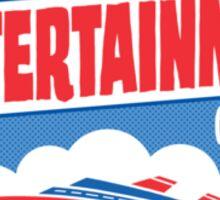 The Wittertainment Cruise  Sticker
