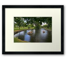The Winding Tay River Framed Print