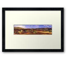 Toodyay - Western Australia  Framed Print