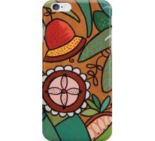 Flora 4 Base Bronze iPhone Case/Skin