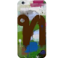 """Thai Characters """"ท"""" iPhone Case/Skin"""