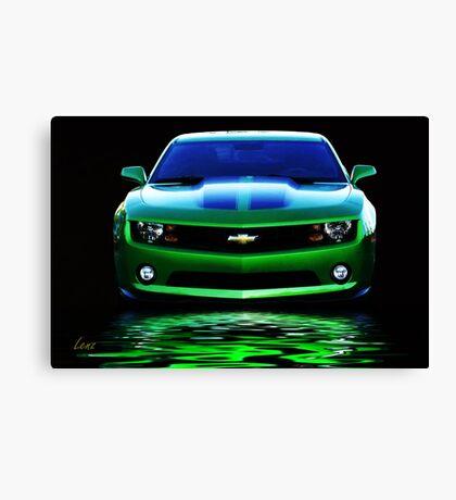 Chevy Camero Canvas Print