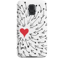 One Heart One Love One Direction Samsung Galaxy Case/Skin