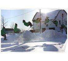 Ski Montage Poster