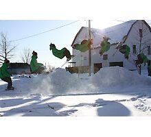 Ski Montage Photographic Print