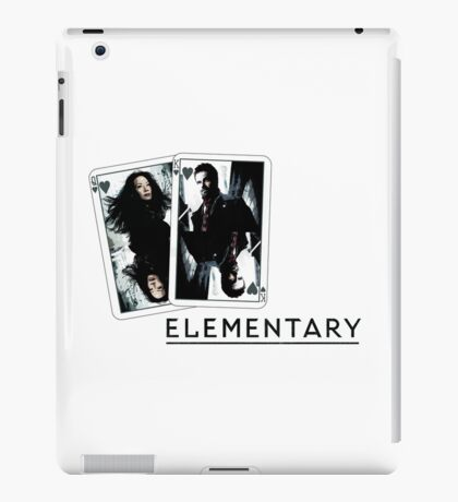 Elementary - Cards iPad Case/Skin