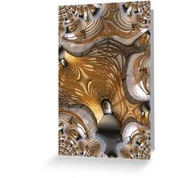 Into Infinity Greeting Card