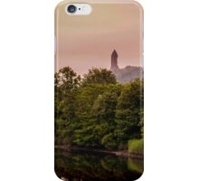 Wallace monument iPhone Case/Skin