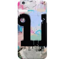 """Thai Characters """"บ"""" iPhone Case/Skin"""