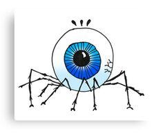 AN EEKY, CREEPY ORBSPIDER Canvas Print