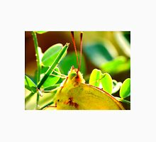 Yellow Sulphur Butterfly Portrait Unisex T-Shirt